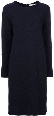Julien David Textured-Knit Dress