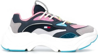 Tommy Jeans colour blocked chunky sneakers