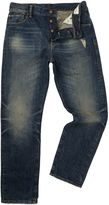 Denim And Supply Ralph Lauren Davis Regular Dirty Mid Wash Jeans