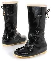 Susanny New Fashion Women Knee High Round Toe Lace Up Heel Inside Sweet Rain Boots 7 B (M) US