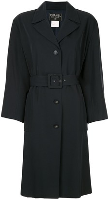 Chanel Pre Owned 1996's Long sleeve coat