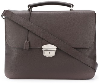 Orciani Push-Lock Briefcase
