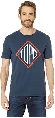 Topo Designs Diamond Tee (Navy) T Shirt