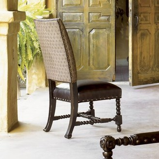 Tommy Bahama Home Kingstown Edwards Genuine Leather Upholstered Dining Chair (Set of 2