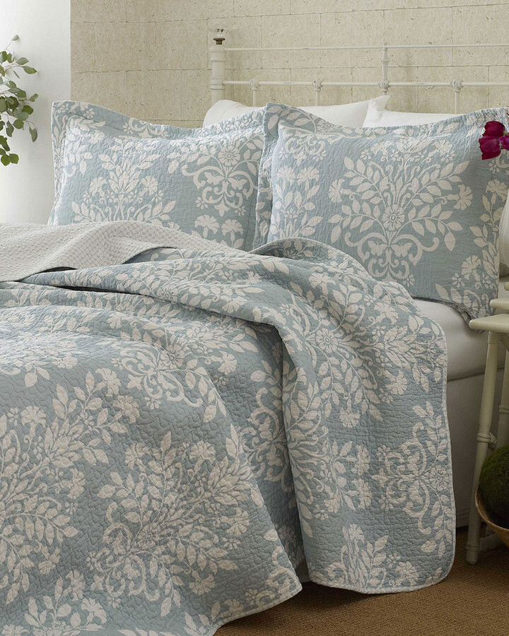 Thumbnail for your product : Laura Ashley Rowland Quilt Set