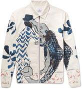 Folk + Goss Brothers Alligator Printed Cotton-Twill Jacket