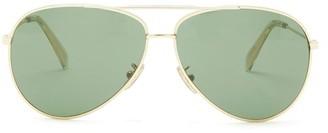 Celine Aviator Metal Sunglasses - Gold