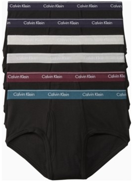 Calvin Klein Men's 6-Pk. Cotton Classics Briefs