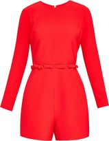 Ted Baker Tanzii Cut-Out Bow Playsuit