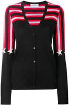 Sonia Rykiel star print V-neck cardigan