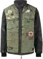 Neighborhood Fuct bomber jacket - men - Acrylic/Nylon/Polyester/Wool - M