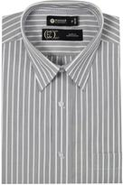 Haggar Men's Long Sleeve Striped Dress Shirt