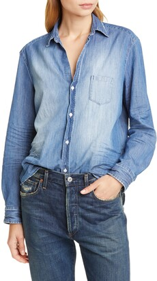 Frank And Eileen Eileen Cotton Denim Shirt