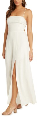 Willow Santorini Low Back Maxi Dress
