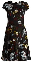 Erdem Darlina Bacall Night floral-print A-line dress