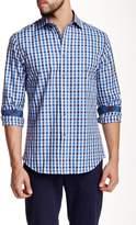 James Tattersall Marlow Multi Box Long Sleeve Modern Fit Shirt