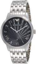 Emporio Armani Men's Classic AR1614 Stainless-Steel Quartz Watch