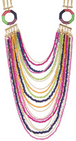 Trina Turk Layered Bead & Chain Necklace