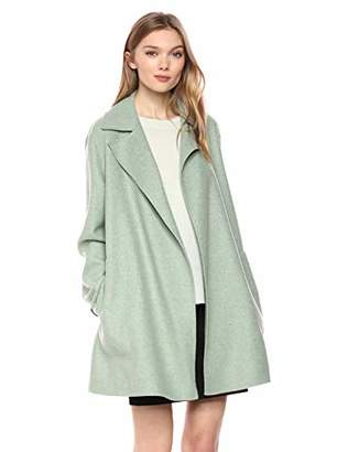 Theory Women's Double Faced Overlay Coat