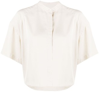 Filippa K Tammy collarless shirt