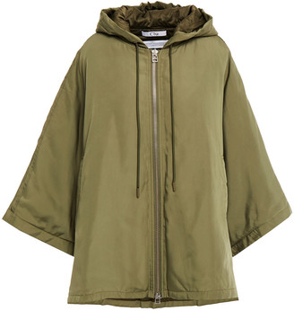 Clu Oversized Shell Hooded Jacket