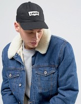 Levis Levi's Batwing Baseball Cap In Black