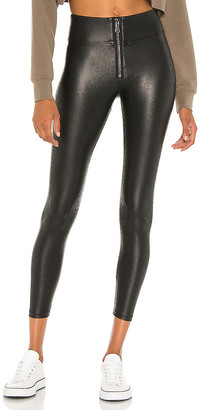 David Lerner Layla High Waist Front Zip Legging