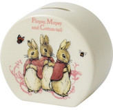 Beatrix Potter Flopsy, Mopsy & Cotton-Tail Money Box