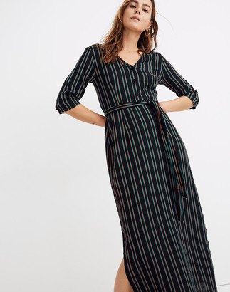 Madewell Ace&Jig Ryan Tie-Waist Maxi Dress