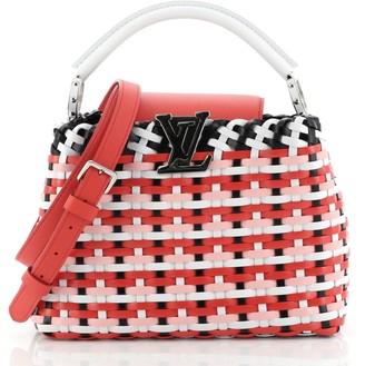 Louis Vuitton Capucines Guinguette Bag Braided Leather BB