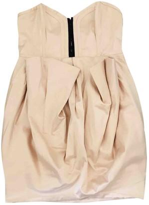 Mangano Pink Silk Dress for Women