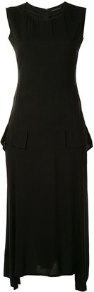 Yohji Yamamoto Draped Sleeveless Dress