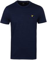 Lyle & Scott Dark Indigo Crew Neck T-shirt