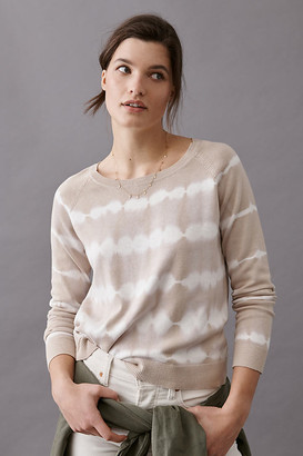 Sanctuary Tie-Dye Striped Sweater By in Assorted Size XS