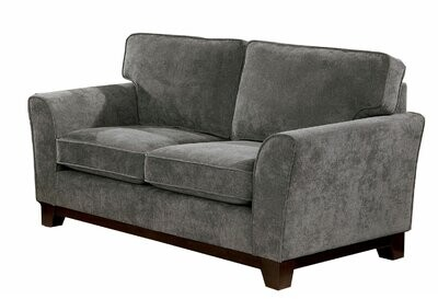 """Thumbnail for your product : Winston Porter Aghwith 63"""" Chenille Flared Arm Loveseat"""