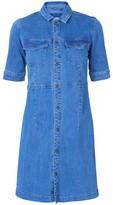 Vero Moda Selma Denim Shirt Dress