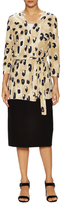 Lafayette 148 New York Georgette Cotton Printed Cardigan