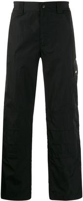 MSGM cargo straight leg trousers