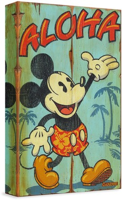 Disney ''Welcome to the Islands'' Giclee on Canvas by Trevor Carlton Limited Edition