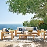 Williams-Sonoma Larnaca Outdoor Teak Sofa