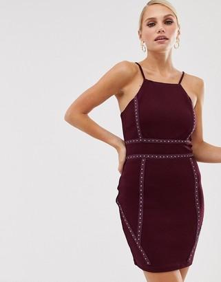AX Paris square neck mini dress