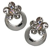 AJ Fashion Jewellery Daisychain tone Crystal Clip On Earrings