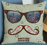 ENHG Wll clock ENHG 2016 fshion personlity cotton pillow cushion cr cushion home