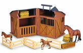 NEW CollectA Horse & Stable Set 4pce