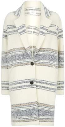 Etoile Isabel Marant Dante Striped Coat