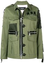 DSQUARED2 military shirt jacket