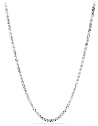 "David Yurman Extra-Large Box Chain Necklace/0.20"""