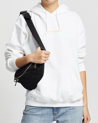 Missguided Women's White Hoodies - Oversized Hoodie - Size M at The Iconic