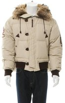 DSQUARED2 Fur-Trimmed Down-Filled Jacket