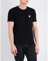 Versus Badge-detail Cotton T-shirt